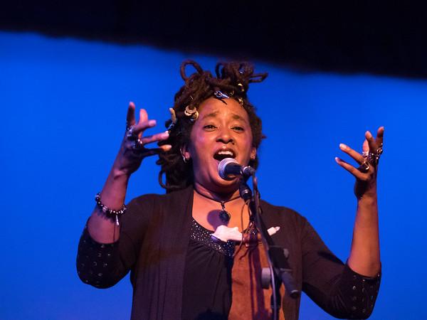 Theresa Davis opening for Rising Appalachia, Sept. 26, 2014